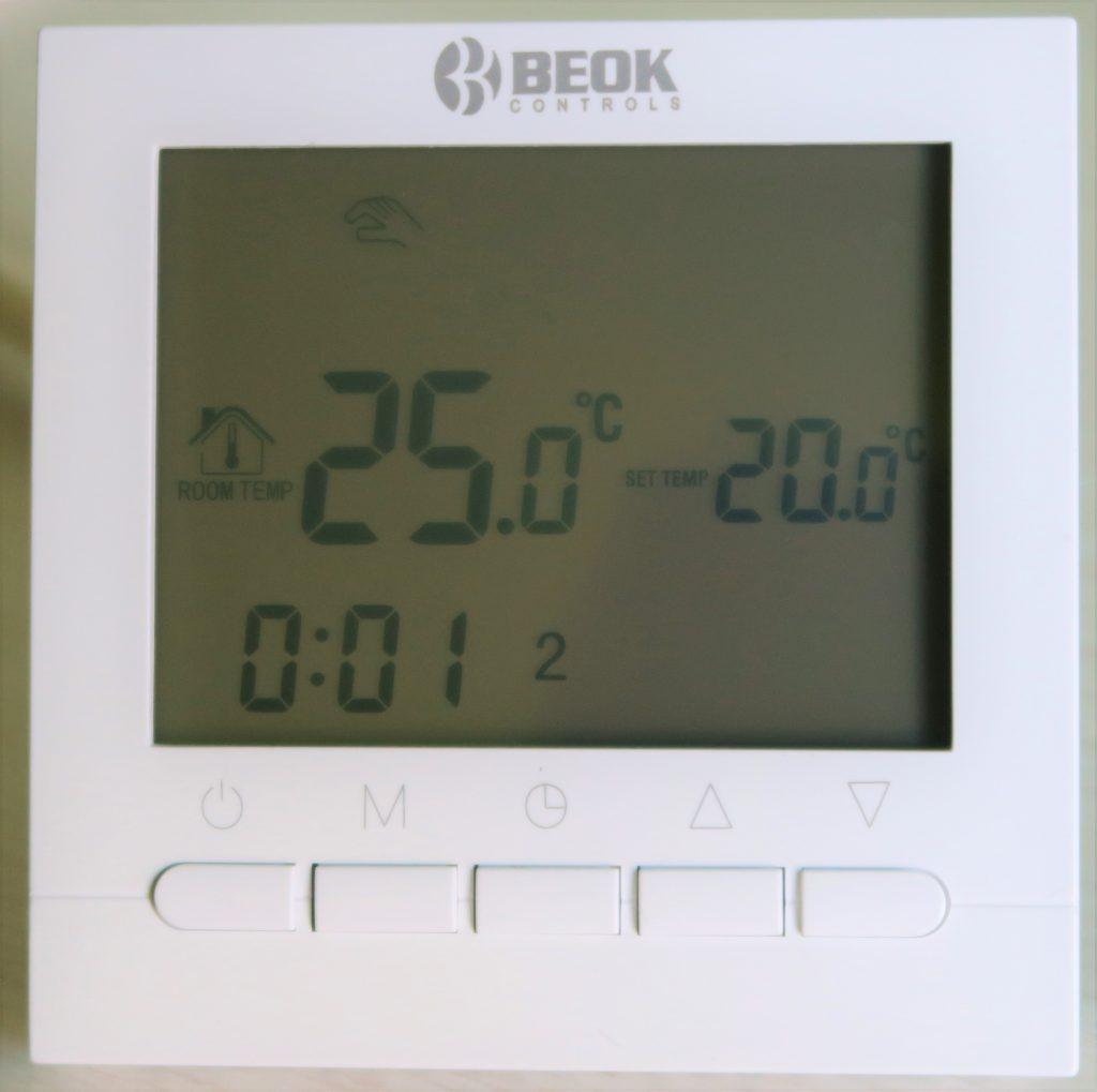 Termostato Beok BOT-313 WiFi