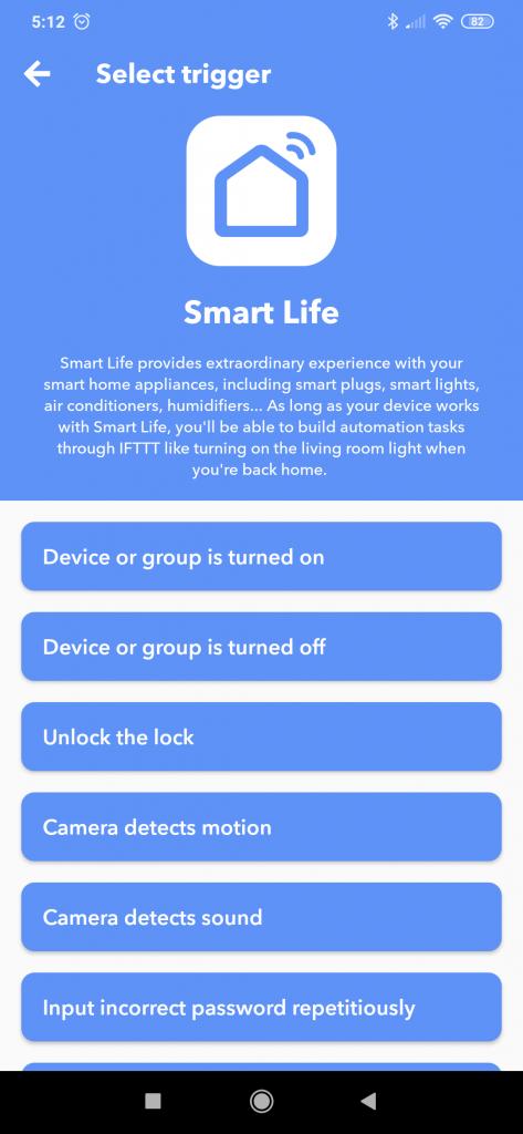 IFTTT Sonoff eWeLink Smart Home Smart Life