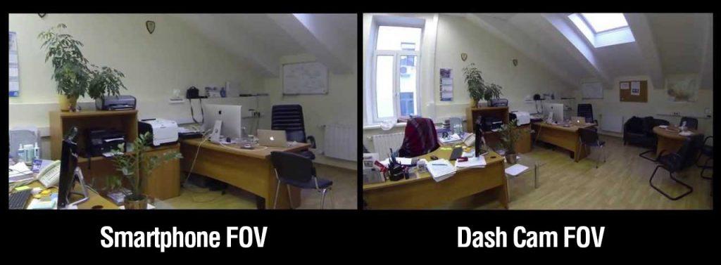 Telecamera per auto Dash Cam FOV