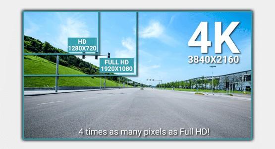 Telecamera per auto dash cam risoluzione video