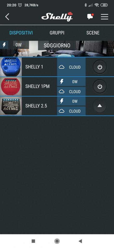 Sonoff Mini vs Shelly 1 eWeLink Shelly Cloud