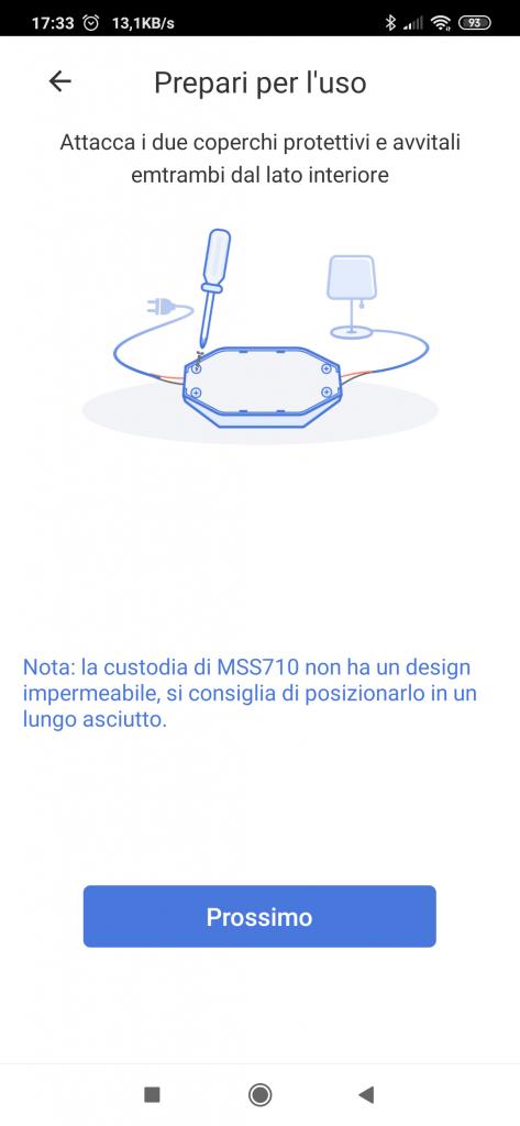 Meross interruttore WiFi Smart Switch MSS710