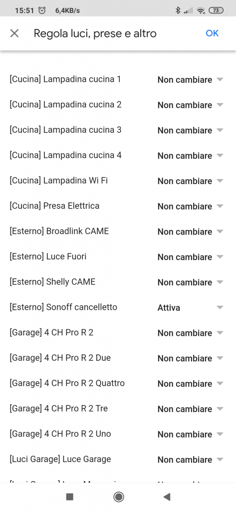 Sonoff citofono Alexa apriporta WiFi Google Home