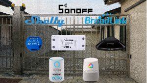 Aprire il cancello automatico con Alexa e Google Home: Sonoff, Shelly 1 o Broadlink RM Pro