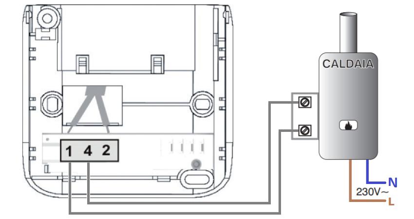 Fantini Cosmi CH110 collegamento fili