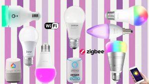 Lampadine WiFi e Zigbee smart: controllo luci con Google Home ed Alexa