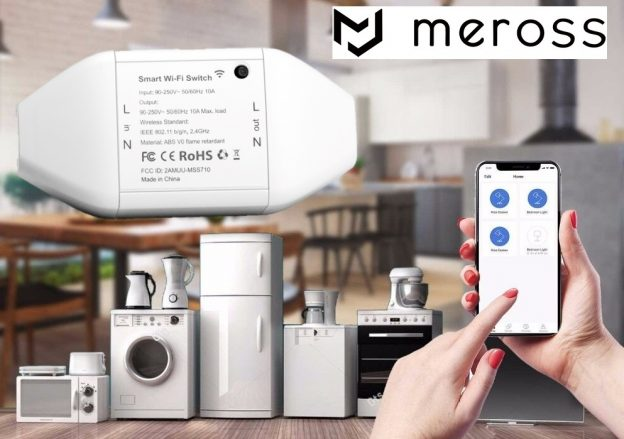 Meross interruttore WiFi Smart Switch MSS710