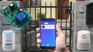Sonoff e citofono: apriporta WiFi con smartphone, Alexa e Google Home