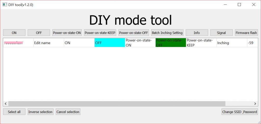 Sonoff DIY Mode Tool