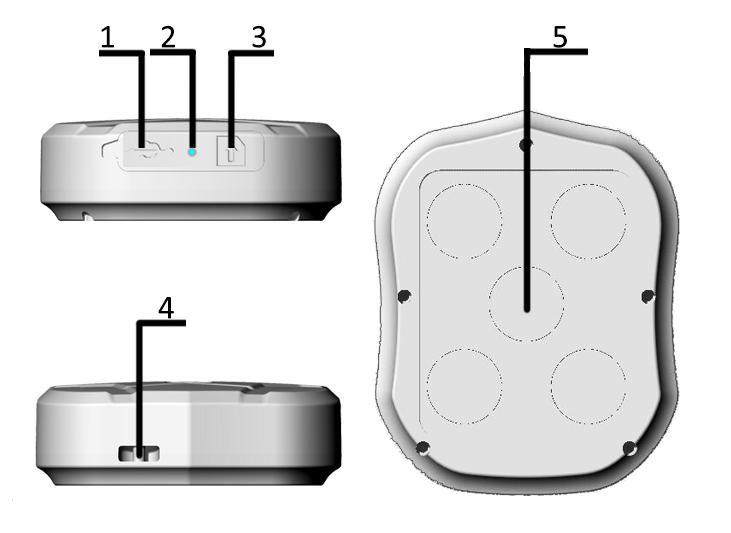 GPS tracker Lekemi / TKSTAR TK905