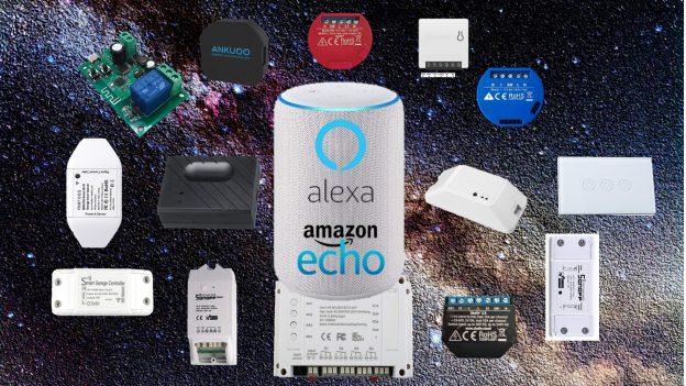Interruttori WiFi compatibili Alexa