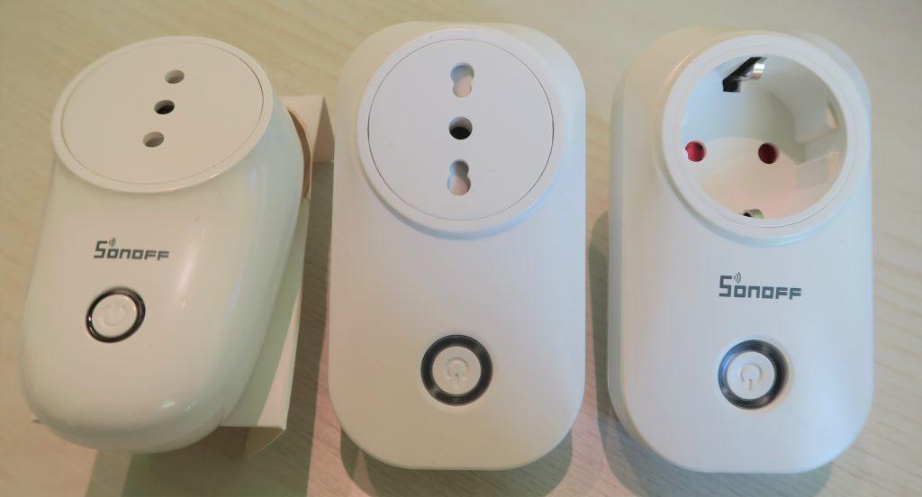 Presa intelligente WiFi Sonoff S26 vs Meross MSS310 vs Sonoff S20