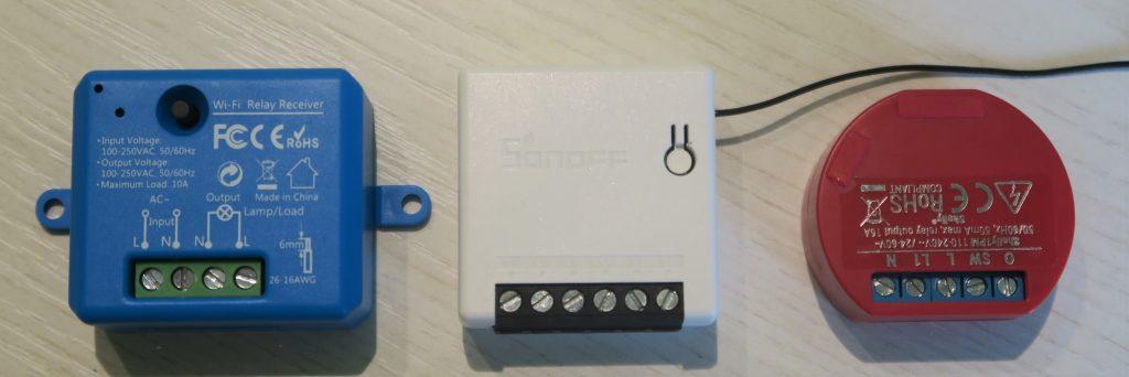 Interruttore WiFi LoraTap vs Sonoff Mini vs Shelly 1PM