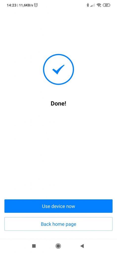 App Broadlink Universal Remote: aggiunta nuovo dispositivo