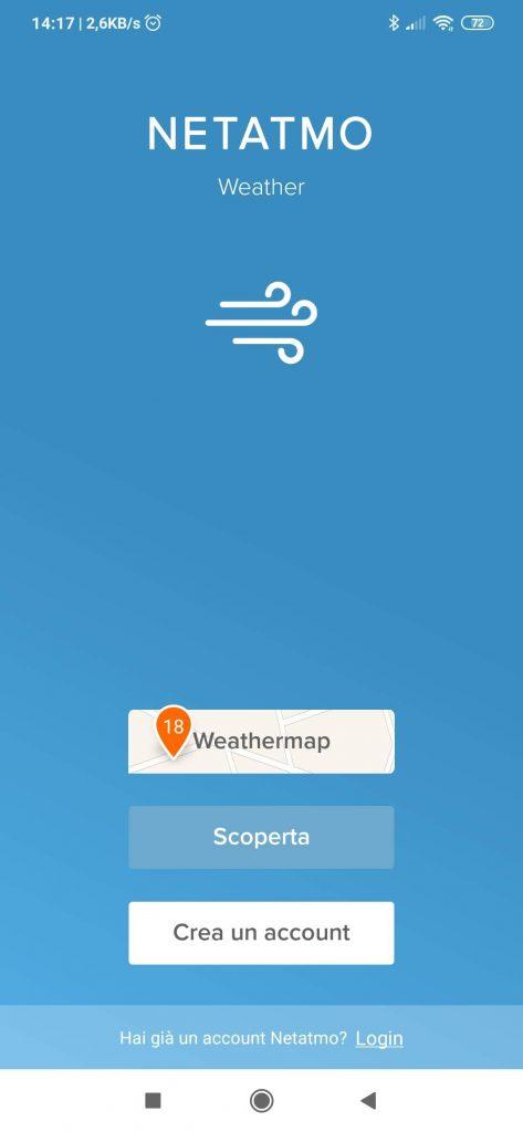 Stazione meteo Netatmo Weather