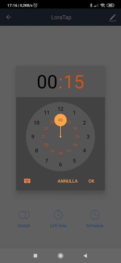 Smart Life App Interruttore WiFi LoraTap