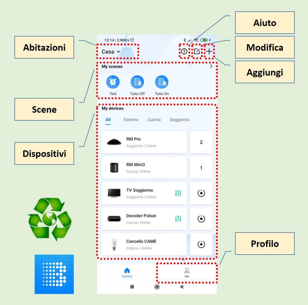 App Broadlink Universal Remote Home