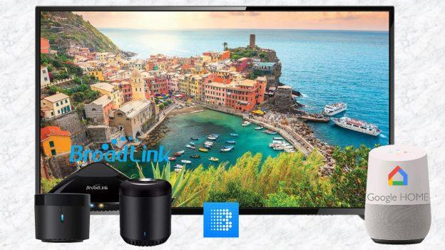 Comandare la TV con Google Home: configurazione Broadlink Universal Remote con RM Mini3, Pro e RM4 Mini