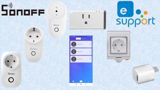 Sonoff presa WiFi intelligente: prese smart Sonoff S20, S26, S55