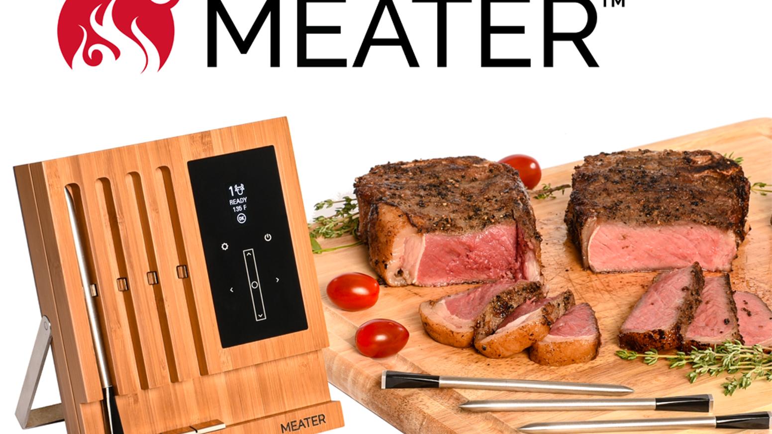 Meater Termometro Bbq Wifi Compatibile Alexa Il primo termometro alimentare wireless ed intelligente per. meater termometro bbq wifi compatibile