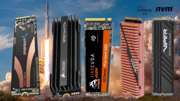 Miglior hard disk SSD interno NVMe PCIe M.2: Sabrent, Corsair, Gigabyte, Patriot, Seagate?