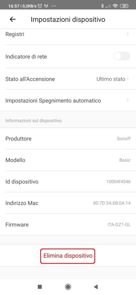 Factory Reset Sonoff: come resettare Sonoff Basic, Mini, S20, TH10 TH16