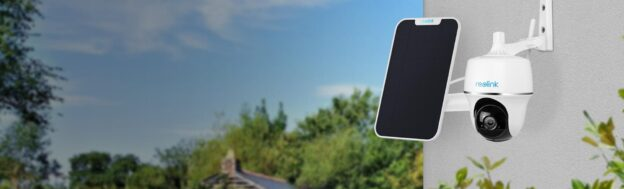Reolink Argus PT telecamera WiFi a batteria ricaricabile da esterno con Pan e Tilt