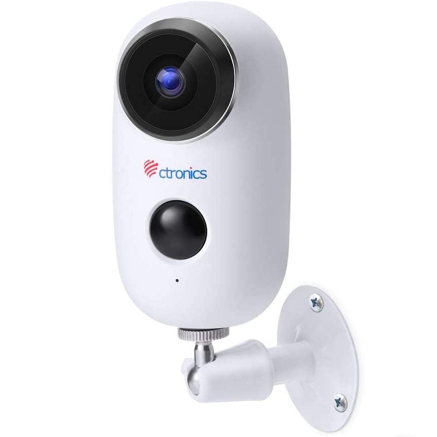 Ctronics A3 | Telecamera WiFi a batteria ricaricabile compatibile Cloudedge