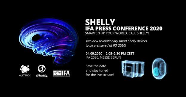 Le novità Shelly ad IFA 2020: Shelly Motion e Shelly 4PRO Plus