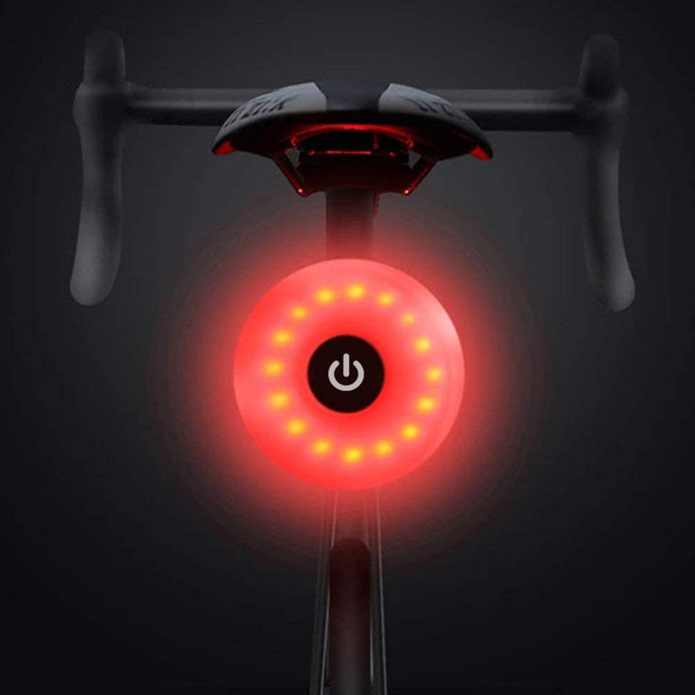 Luce posteriore bici da corsa