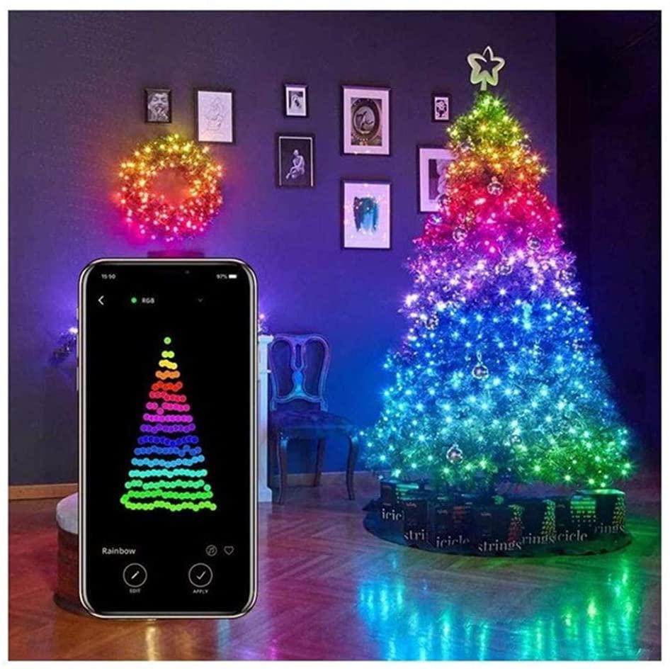 Decorazioni Natalizie A Led.Luci Albero Di Natale Smart Con App Twinkly E Le Alternative