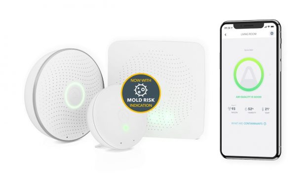Airthings Wave Plus misuratore qualità dell'aria interna e del radon