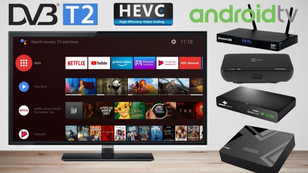 Miglior Android TV Box con digitale terrestre integrato | Trasformare TV in smart TV DVB-T2
