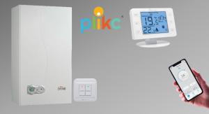 Cronotermostato digitale WiFi Plikc Neve X W e X RFW compatibile Alexa