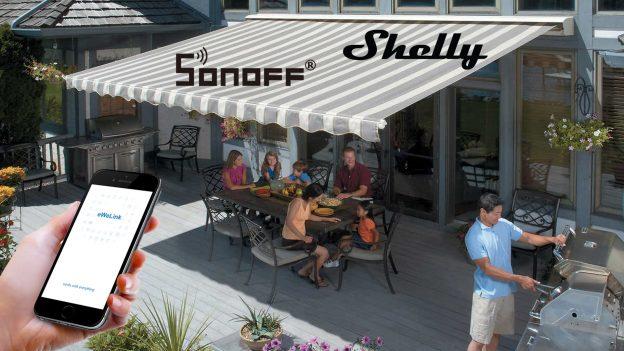 Domotica per tende da sole con Sonoff e Shelly